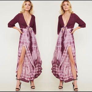 Dresses & Skirts - NWT $110 Tye Dye Romper Dress free people